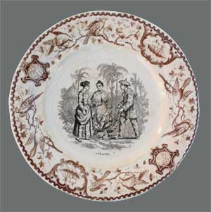 Assiette de table